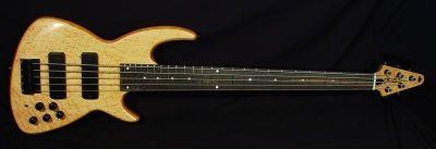 Chris Larkin Guitars - Birdseye 5 with Johnsen bridge