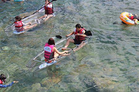 바다 생태계를 눈으로 직접 체험하는 투명 카약 - 월간 한국인 www.gz-begreen.com