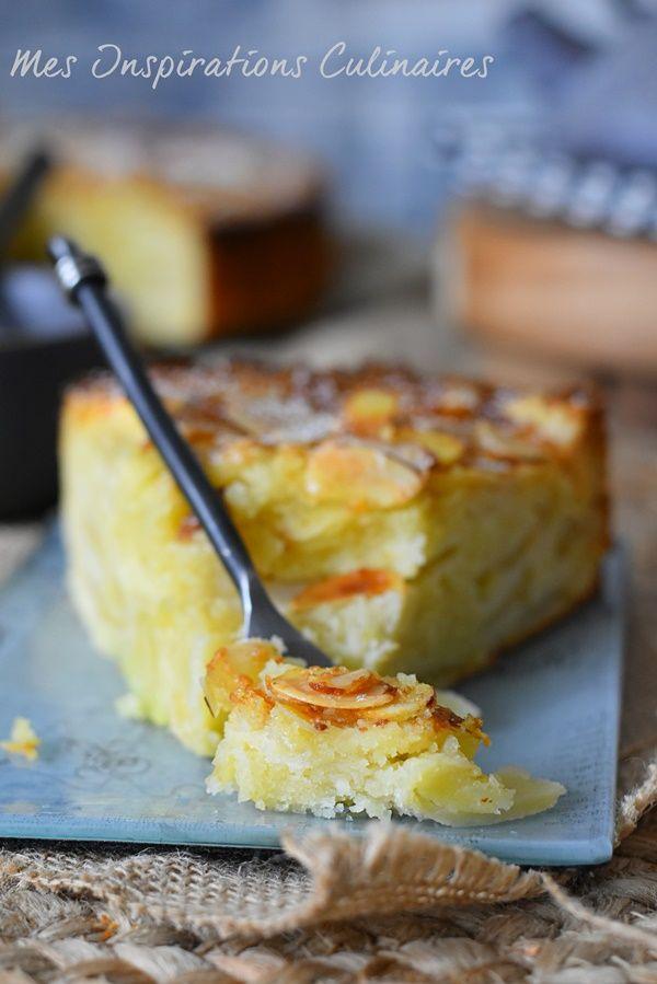 Gâteau Ève aux pommes et amandes facile