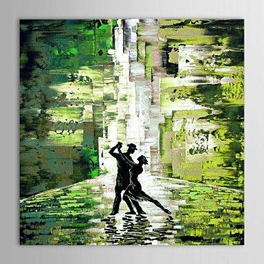 【今だけ☆送料無料】 アートパネル 人物画1枚で1セット ダンス 社交 グリーン 男女【納期】お取り寄せ2~3週間前後で発送予定