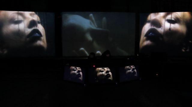 AV performance: Inside_ concept/visuals: Jago VJ, music: Pleq @ Narracje Festival (excerpts) by JAGO | VJ. AV Performance: Inside_ @ Narracje Festival, curator: Steven Matijcio (Canada), 17.11.2012 Gdansk, Poland.  ---