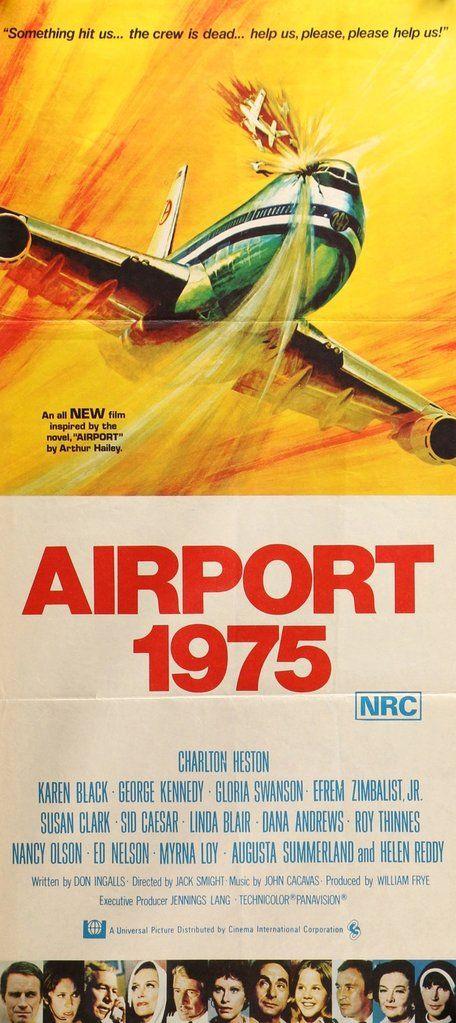 Airport 1975 (1974) Original Australian Movie Poster