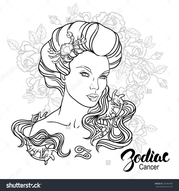 411 best Adult ColouringZodiac Signs images on Pinterest