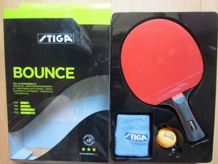 33.07$  Watch now - http://alisp5.shopchina.info/go.php?t=1213257656 - Original Stiga bounce 3 stars table tennis rackets suit for beginner finished rackets racquet sports pingpogn paddles 33.07$ #buyonline #tennisforbeginners