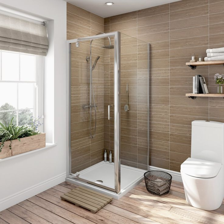 See our 6mm pivot shower enclosure plus many more Square shower enclosures at VictoriaPlum.com. Plus 365 day no quibble returns. - £179