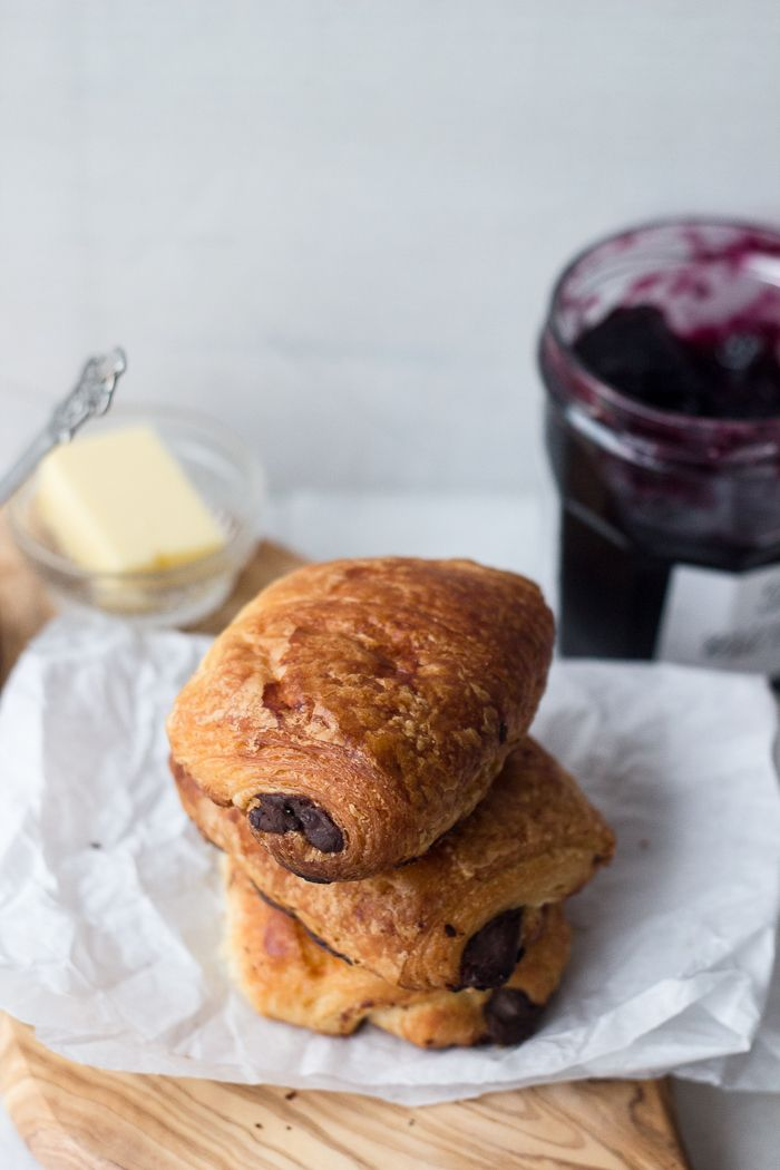 Chocolate Croissants (Pains Au Chocolat)  (a step-by-step guide with .gifs)