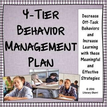 Spend less time managing behaviors and more time teaching!This behavior management plan includes every behavior challenge I have encountered in over two decades of teaching and categorizes behaviors and interventions into four tiers, scaffolding interventions as behaviors escalate so teachers can match their responses and strategies to various degrees of behaviors.*****************************************************************************Want your entire school to get organized and be on…