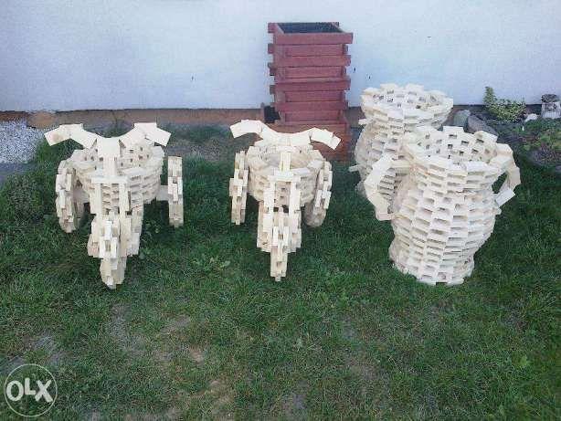 Садовые украшения кувшинов велосипеды горшки Фузилли производитель Chojnice - изображение 2