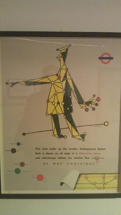 Be map conscious @ London transport museum