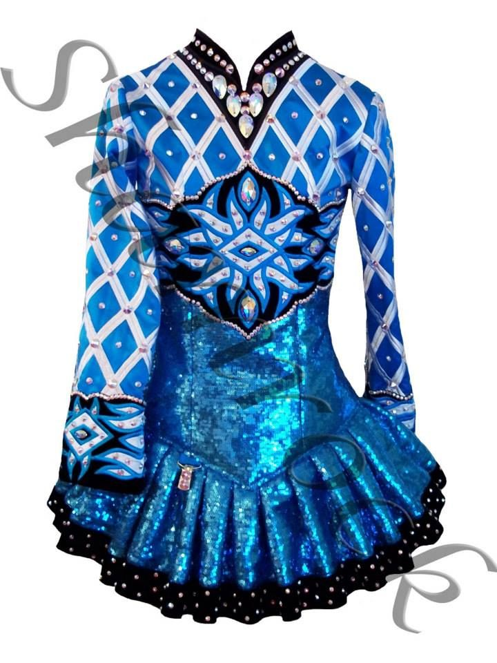 """Irish dancer Meaghan Kelsey writes, """"A beautiful dress gives the dancer an extra boost of confidence in herself and in her dancing your very unique solo dress sets you apart.""""74 Another dancer states of her dance costume, """"I want to be seen as a lioness; a powerful competitor of beauty and strength on the hunt.""""75 Such expressions."""