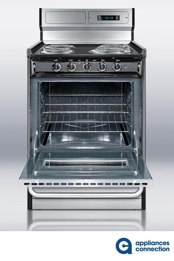 Professional Series 24 Inch Freestanding Electric Range With 4 Coil Elements 2 92 Cu Ft Total Ove Freestanding Electric Ranges Electric Range Top Appliances