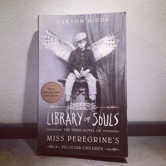 43/52: A book which is a trilogy - book three. Ransom Riggs' Library of Souls. Fantastic ending to the tale of #MissPeregrinesPeculiarChildren. I had to finish it before going to bed I was so enthralled by it. Great trilogy, which I highly recommend to everyone, regardless of age.