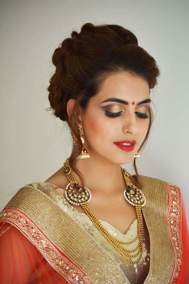 gold & polki necklace