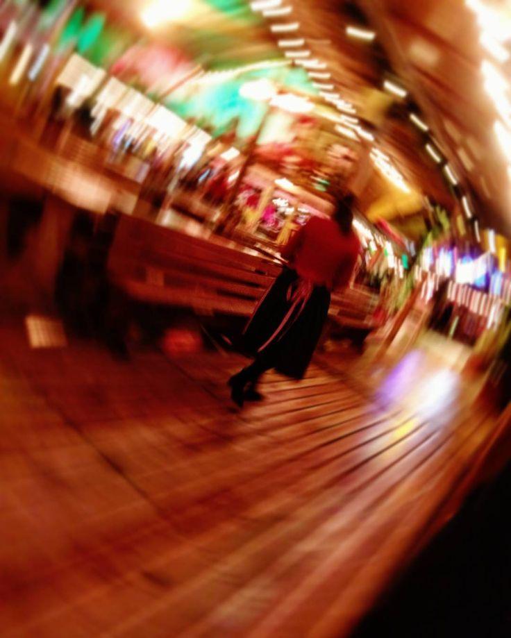 Managed to snap this totally by mistake. No extra blur added. No filter. I must have been drunk #blur #nofilter #phonecamera #winterwonderland #bavarianvillage #bavarianvillagelondon #weird #arty #how #lights #staff #waitress #xmas #xmasmarket #christmasmarket #christmas #londonchristmas #londonchristmasmarket #creative #creativephoto #bar #gb #uk #london #londoner #lovelondon