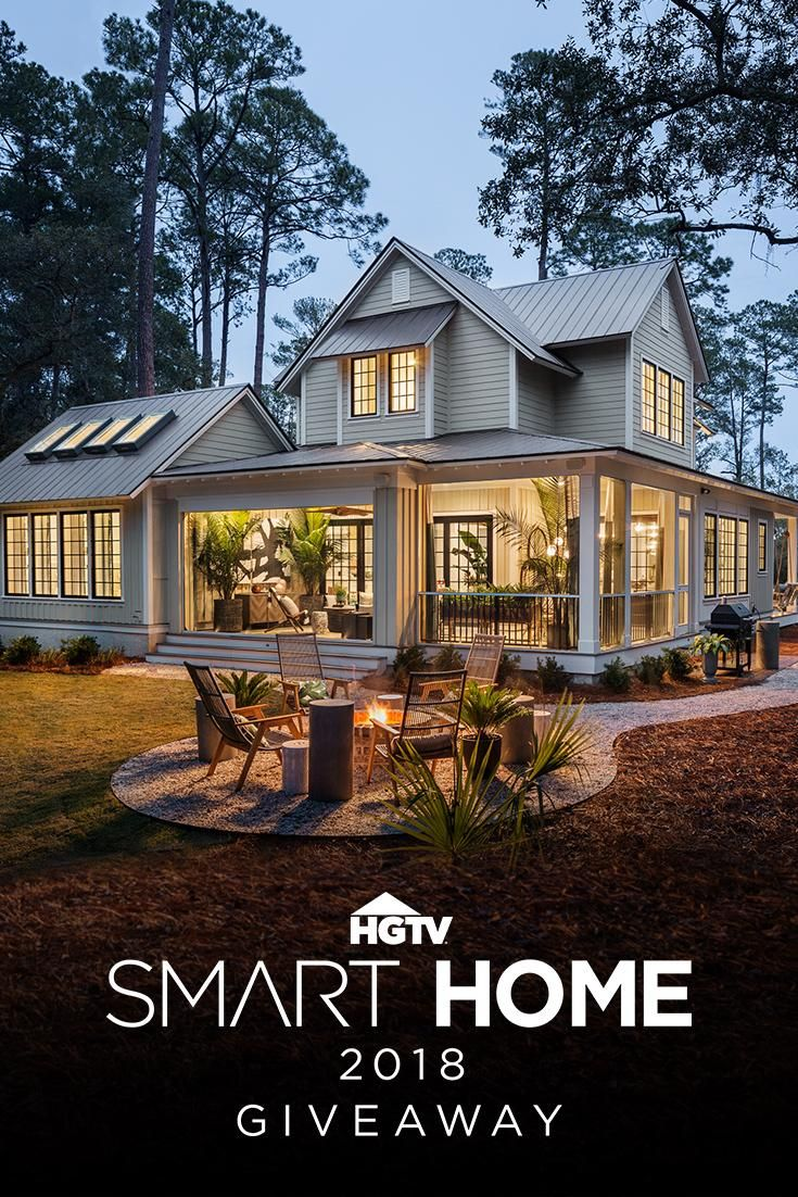 HGTV Smart Home 2018: This Southern Coastal Sanctuary with ... on property brothers house design, living small house design, dream home house design,