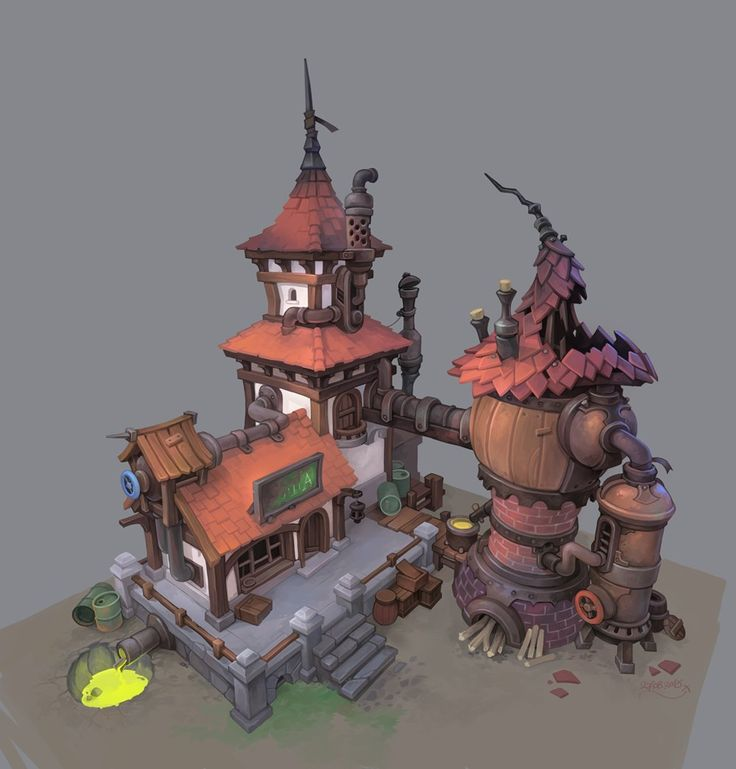 Abandoned Alchemy Workshop