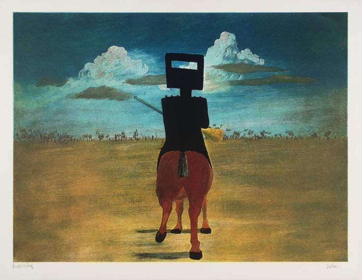 Sidney Nolan, 1. Ned Kelly, 1970-71