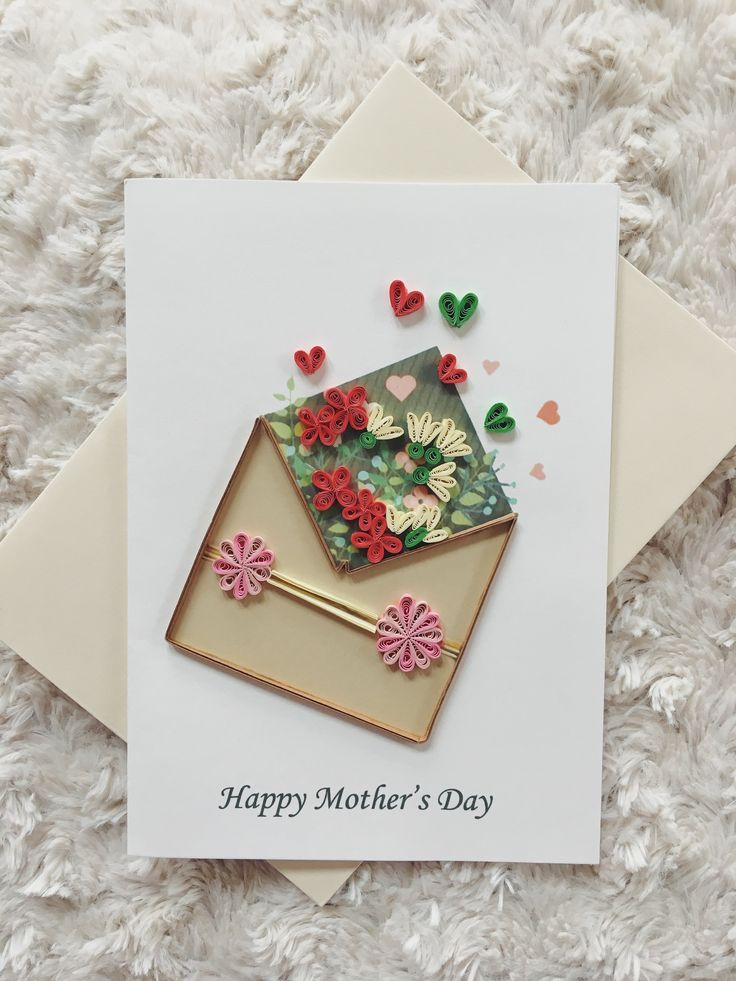 The caption says it all! Mom will be amazed at the intricate quilling - and the card is blank inside, so you can write your own special note of appreciation. - Card is blank inside so you can write yo