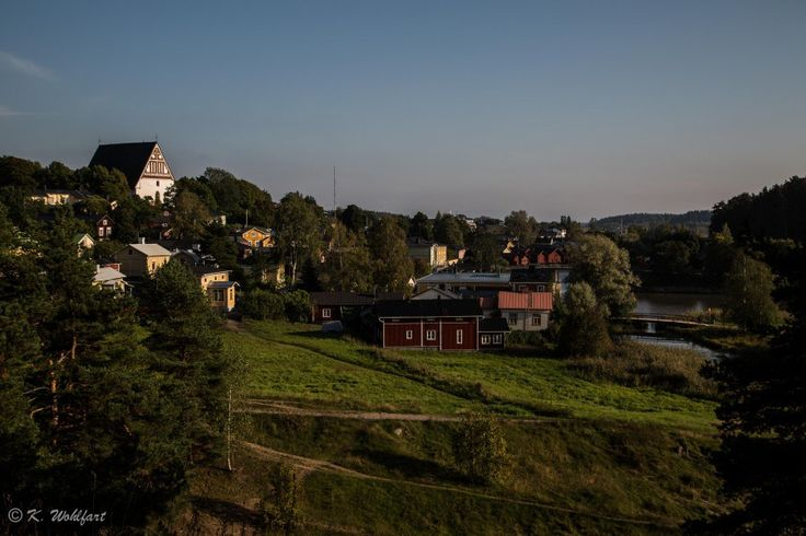 View to the old town of Porvoo #TravelHousePorvoo