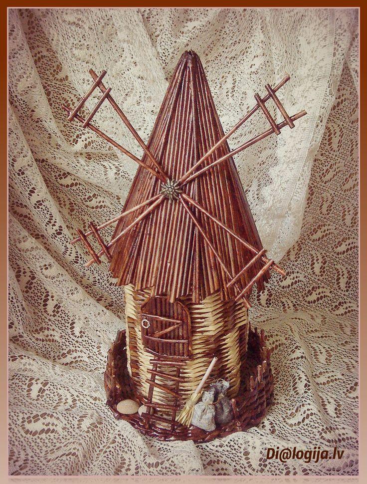 Плетение из бумажной лозы, Dialogija