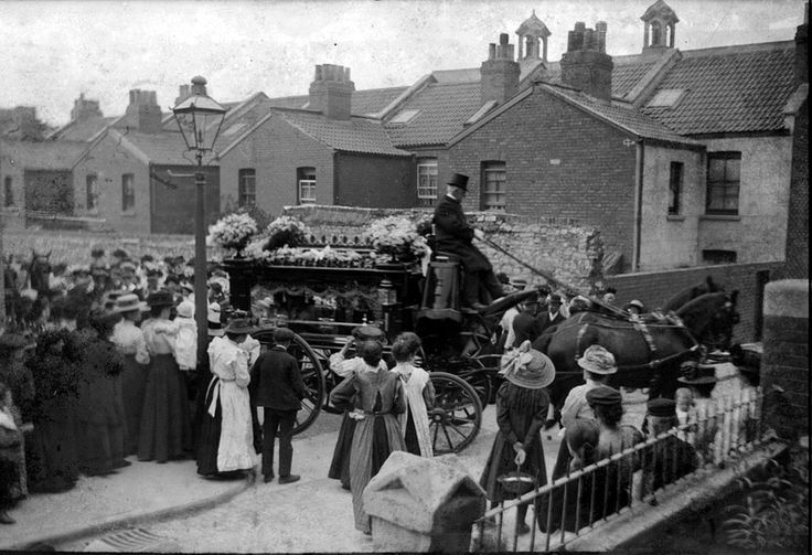 Victorian funeral, Bedminster, Bristol | by brizzle born and bred