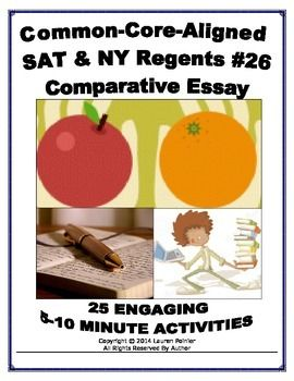 Should we write the SAT essay in the way we do in English regent?