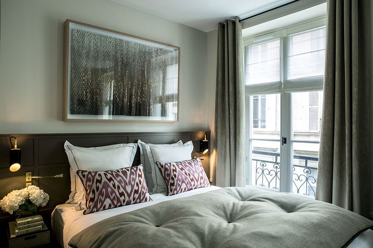 A room at the Hôtel La Tamise in Paris #latamisehotelparis