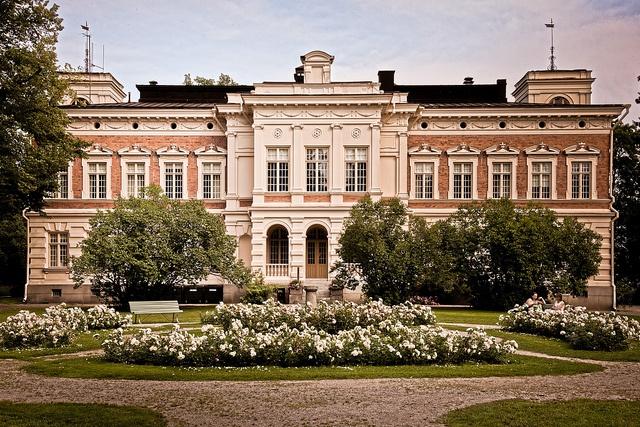 Hatanpää mansion, Tampere by Mika Hirsimäki, via Flickr