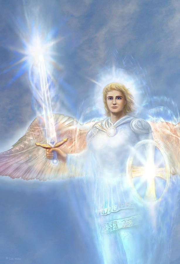 Image result for beautiful picture of archangel michael with full of energy
