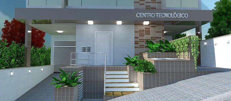 Edifício Corporativo - Tubarão, SC. Portfólio Arquiteta Renata C. Bet