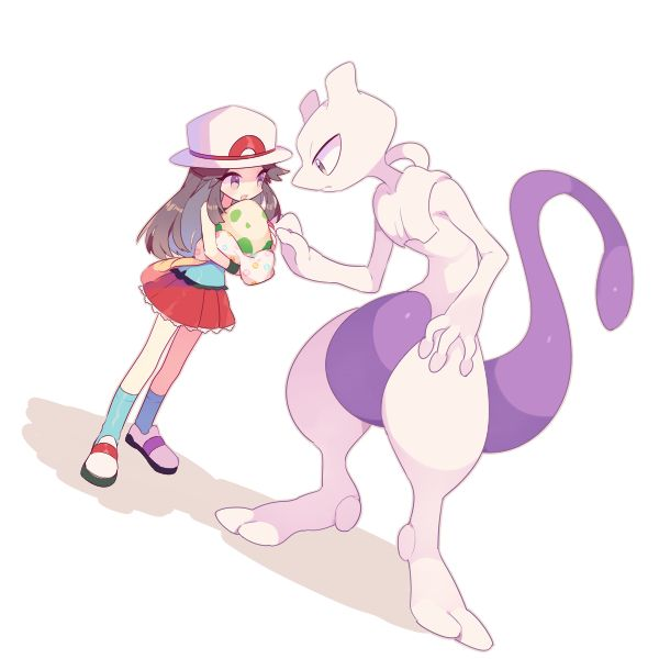 Pokemon Leaf Blue/Green and Mewtwo