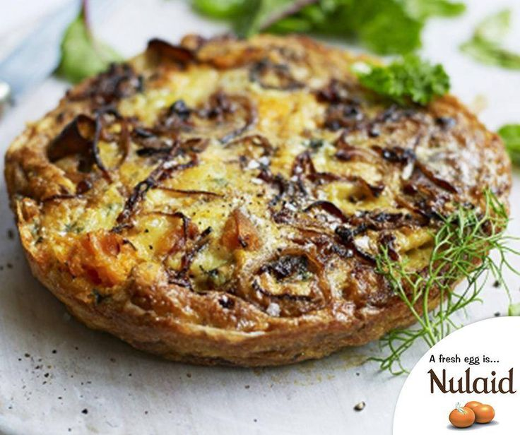 Here is a quick, easy and mouthwatering recipe you absolutely have to try: Sweet potato & blue cheese frittata. For the full recipe click here: http://ablog.link/9uq #Nulaid