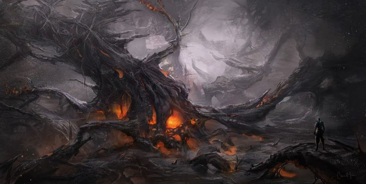 Dark Landscape__Digital Art Environments by Clara Moon ...