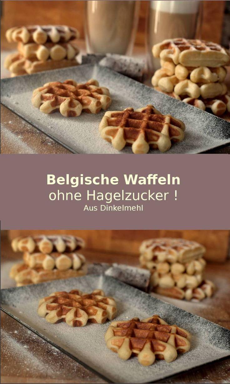 Belgische Dinkel Waffeln ohne Hagelzucker! – Preppie and me