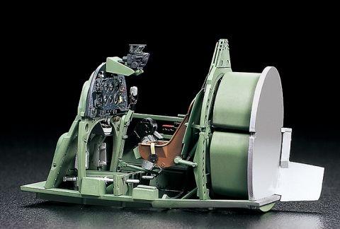 Niesamowite obrazy Szczegółowe Silniki i kokpitach 10 Tamiya Fighter plastikowy model Samoloty wojskowe 1/32