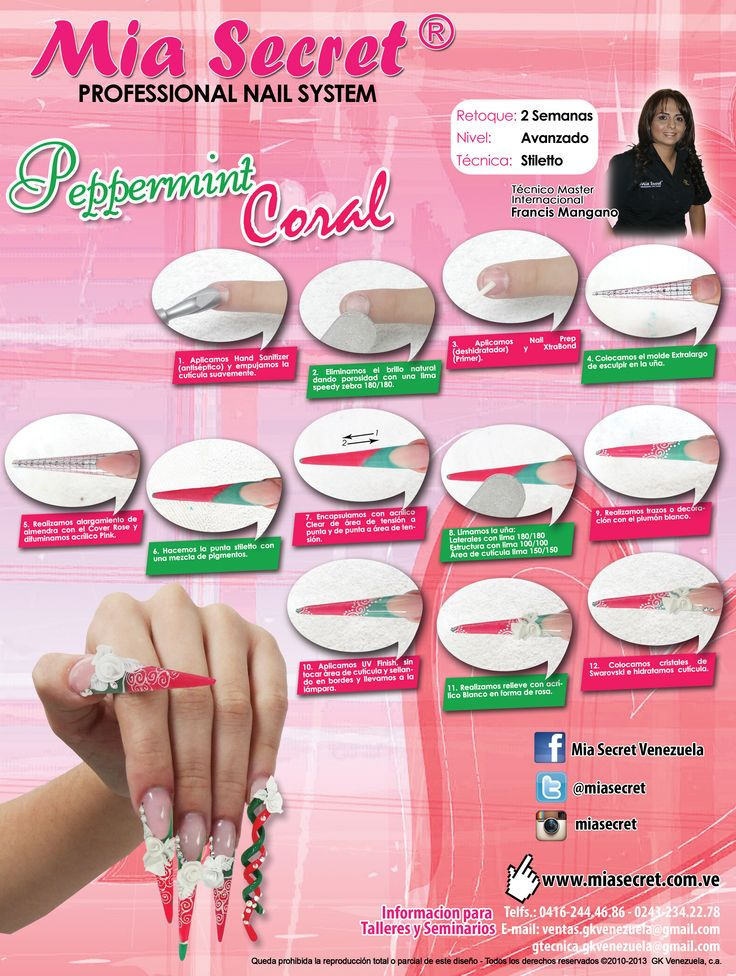 Paso a paso Peppermint Coral