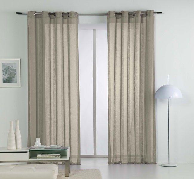 M s de 1000 ideas sobre cortinas de lino blanco en for Cortinas ollaos para salon