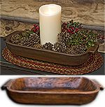 KP Creek Gifts - KP Home Treenware. Rustic Decor Holiday Christmas.