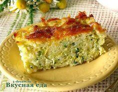 Запеканка  из кабачков с сыром  Этот рецепт запеканки из кабачков подходит как для мультиварки, так и для духовки.