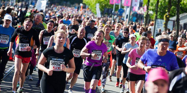 Världens största halvmaraton med över 64 000 anmälda.