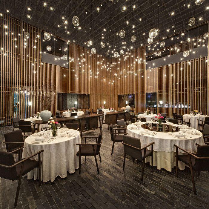 gastronomie-einrichtung-restaurant-möbel-stilvoll-gläser-lampen ...