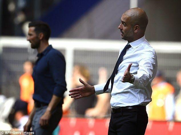 Josep Pep Guardiola : Guardiola: if we won over Hamburg I would be Super...