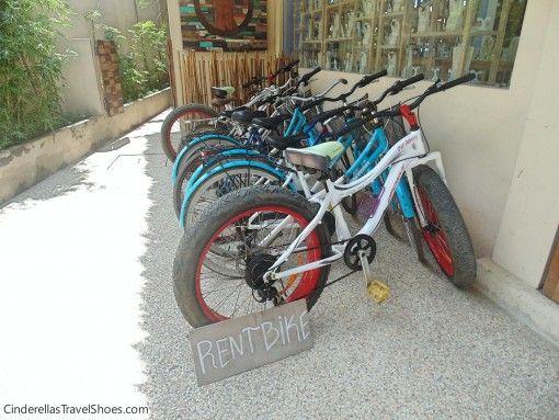 In Gili islands bikes are everywhere