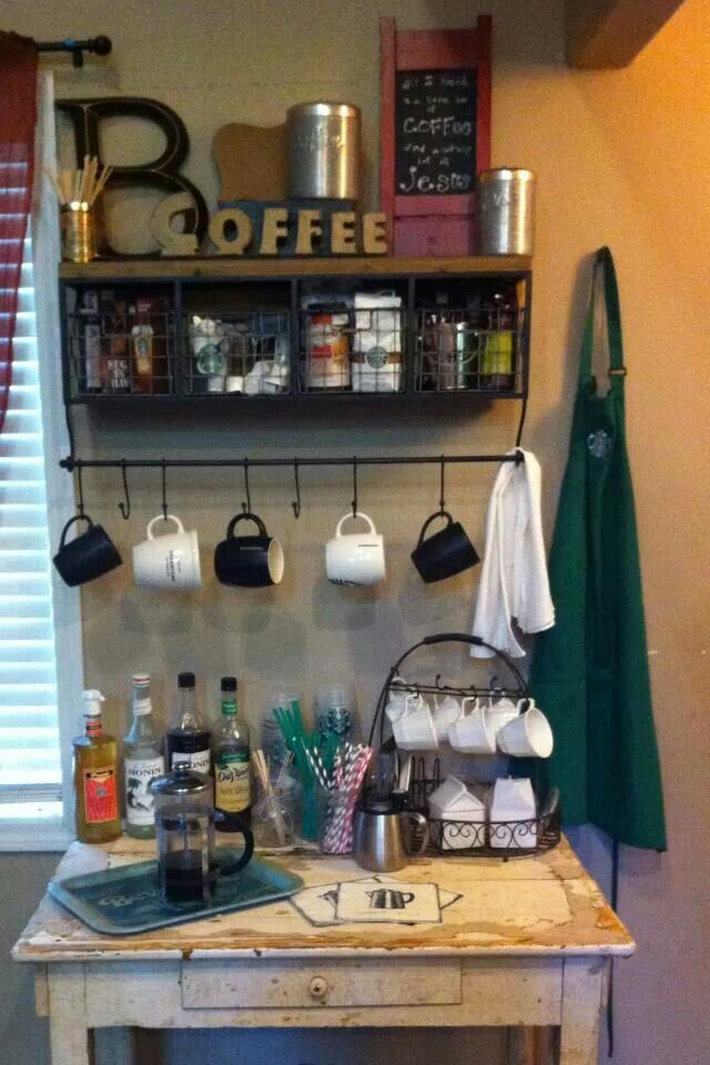17 Best Ideas About Home Coffee Bars On Pinterest Rental