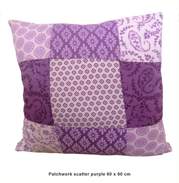 Sillybilly Patchwork scatter purple