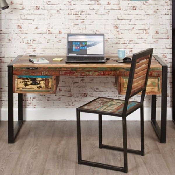 Back to School Reclaimed Wood Writing Desk - 120 Best Images About Reclaimed Wood Furniture On Pinterest