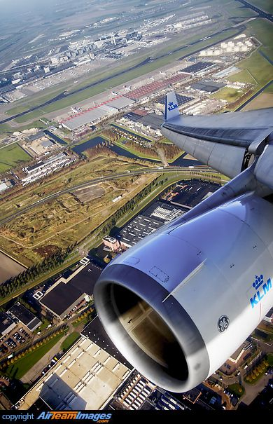 Plane views from my window seat - Taking off from Schiphol