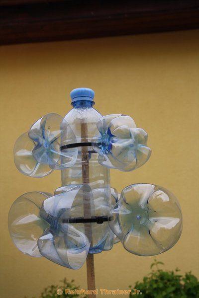 die besten 25 windr der plastikflaschen basteln ideen auf. Black Bedroom Furniture Sets. Home Design Ideas