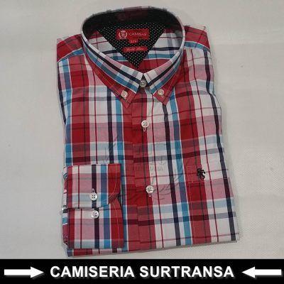 Camisa Cuadros Surtransa 1124