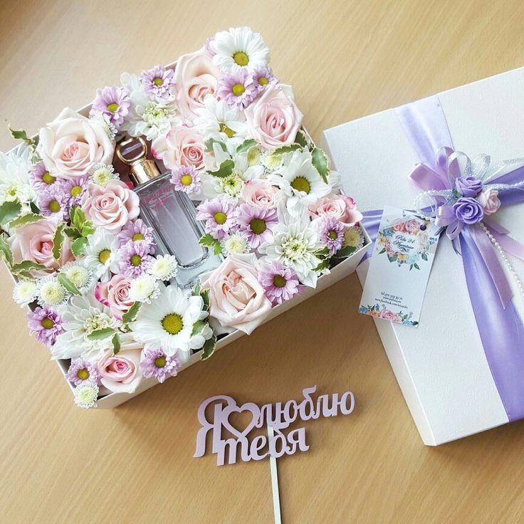Подарочная коробочка с живыми цветами и духами     от Pidu 24 Agentuur. Для заказа www.facebook.com/teiepidu